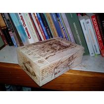 Leonardo Da Vinci Caja. Arte Y Pirograbado Copy Nasa