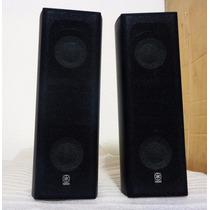 Set De Bocinas Yamaha Sistema Bass Reflex Cono De Seda