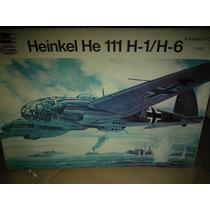 Avión Heinkel He 111 H-1/h-6 Esc. 1/72. Revell Lodela $550