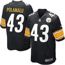 Jersey Nfl Nike Troy Polamalu # 43 Acereros De Pittsburgh