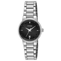 Citizen 60769 Reloj Clásico Analógico Cuarzo Para Mujer Negr