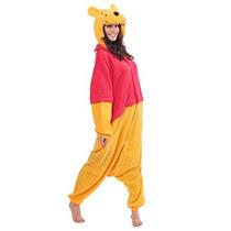Winnie The Pooh Kigurumi (todas Las Edades De Vestuario)