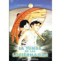 Studio Ghibli La Tumba De Las Luciernagas Pelicula Dvd