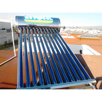 Calentador Solar 12 Tubos 150 Litros 4-5 Personas