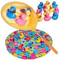 Duck Pond Piscina Con 12 Flotantes Duckies Tabuladas