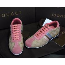 Tenis Gucci Rosas Precio