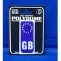 Gb Parachoques - Placa Euro Polydome Código Europa Auto