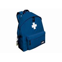 Mochila Azul Con Cruz Wallis B1780230s