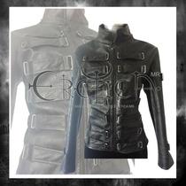 Chamarra Vinipiel Eslabones Eretica Ropa Dark,gotico,metal