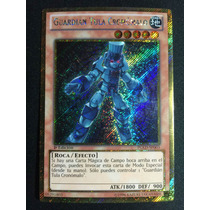 Yugioh Chronomaly Tula Guardian Gold Pgld-sp003