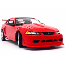 1:18 Ford Mustang Svt Cobra 2000 De Coleccion Metalico