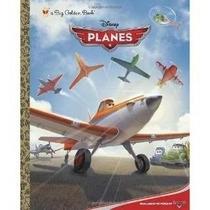 Libro De Disney Pixar Planes Aviones Pasta Dura Nuevo
