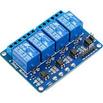 Modulo De 4 Relevadores Relay Arduino, Refactronika
