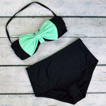 Traje De Baño Bikini Retro Vintage