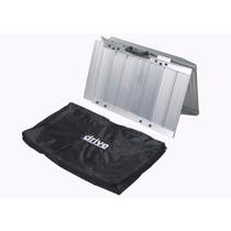 Rampa Silla Ruedas Metal Portátil Con Bolsa Trasporte 76 Cm