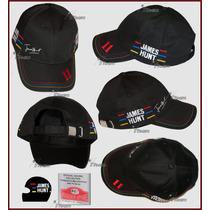 Gorra De James Hunt Tributo Mclaren F1 Team Autentica Rush