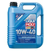 Aceite Sintetico 10w-40 Super Leichtlauf 5 Litros Liqui Moly