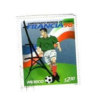 Timbre Postal México 68