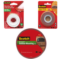 Kit Triple Montaje Exterior Cintas Adhesivas Scotch 3m