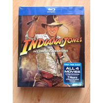 Indiana Jones Complete Adventures Blu Ray Digibook Usa