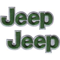 Jeep Jeep Carros Parches Bordados