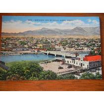 Antigua Tarjeta Postal Puente Internacional Juarez-el Paso