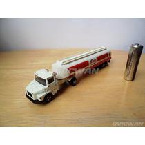 Trailer Escala Scania Esso Majorette 364 Vintage 1-100 Ce51