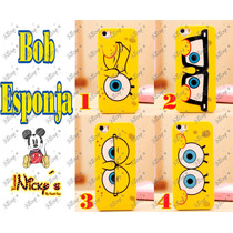 Funda Case Bob Esponja Iphone 5 5s 6s 6 6 Plus
