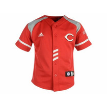 Jersey Juvenil Adidas De Los Cincinnati Reds Mlb