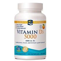 Nordic Naturals Vitamina D3 5000 Ui 120 Cápsulas