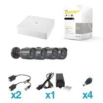 Shrb900/4sh Epcom S04 Paquete Kit Cctv 4 Camaras Completo