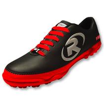 Tenis Zapato Futbol Rapido R55 Rojo Ruggel Galgo