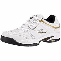 Tenis Reach 842 Blanco Negro Oro Pv