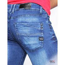 Jeans Caballero Mezclilla Corte Skinny Slim