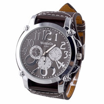 Reloj Womage Cuero Relojes Originales Hombre Dama Accesorios