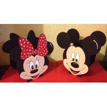Centro De Mesa De Mickey O Mimi Mouse (1 Pza. A Elegir)
