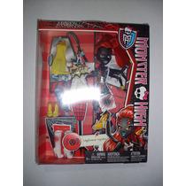 Monster High Wydowna Spider Webarella Trae Accesorios Y Ropa