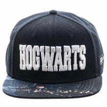 Harry Potter Hogwarts Gorra Ajustable Nueva Importada
