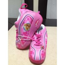 Zapato Patin Para Niña De Barbie Totalmente Nuevos En Caja