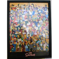 Poster Enmarcado De Los Simpson 2007 Original