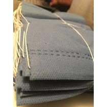 Cubrebocas Sms 2 Capas 35grms Azul Indigo Con 100