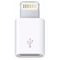 Adaptador Micro Usb 5pin A 8pin Lighting Iphone Ipad Ipod