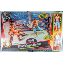 Wwe Steel Cage Match (john Cena Randy Orton, Ring Y Jaula )