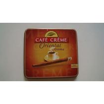 Cajita De Lamina Vacia De Cafe Creme Oriental Aroma Holanda