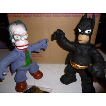 Homero Batman Y Guason The Dark Knight Simpsons The Jocker