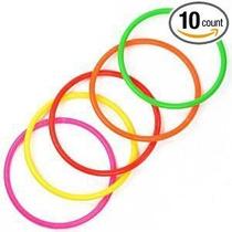 Elife 10 Piezas 5 De Plástico Toss Anillos Para Los Juegos