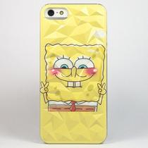 Funda Bob Esponja Case Efecto 3d Para Iphone 5 5s