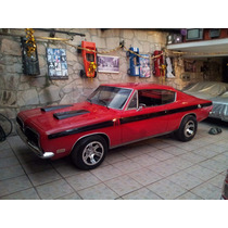 Barracuda 1969 Impecables Condiciones Plcas Antiguo Dictamen