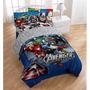 Sabanas Y Dos Fundas Cama Matrimonial Avengers Marvel