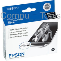 Cartucho Tinta Epson T059820 Negro Mate 13ml Original